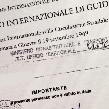Patente internazionale di guida: come richiederla